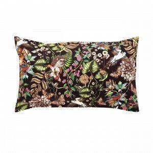 Hemtex + Nadja Wedin Skogen Pillowcase Tyynyliina Monivärimusta 50x90 Cm