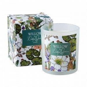 Hemtex + Nadja Wedin Willow Candle In Paper Box Kynttilä Monivärivalkoinen 7x7 Cm