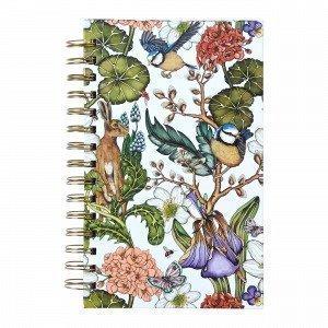 Hemtex + Nadja Wedin Willow Notebook Muistikirja Monivärivalkoinen 15x21 Cm