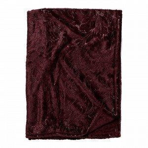 Hemtex Odette Blanket Viltti Viininpunainen 130x170 Cm