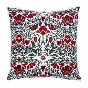 Hemtex Otilia Cushion Koristetyyny Moniväripunainen 50x50 Cm