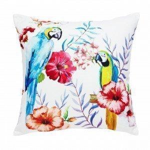 Hemtex Parrots Koristetyyny Kermanvalkoinen 50x50 Cm