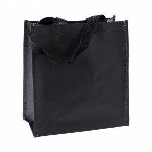 Hemtex Plain Lunch Bag Eväslaukku Musta 24x13 Cm