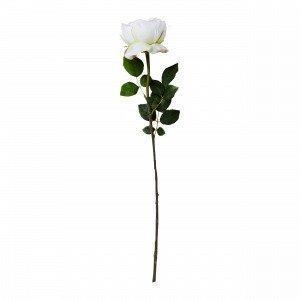 Hemtex Rose Textile Flower Tekokukka Kermanvalkoinen 13x67 Cm