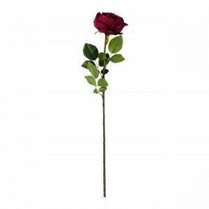 Hemtex Rose Textile Flower Tekokukka Purppura 13x67 Cm