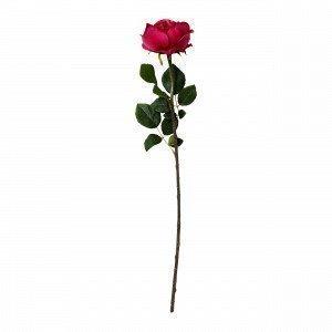 Hemtex Rose Textile Flower Tekokukka Tummanroosa 13x67 Cm