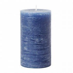 Hemtex Rustic Kynttilä Sininen 7x7 Cm