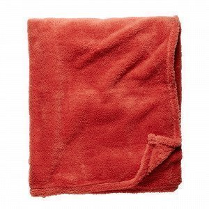 Hemtex Sabinette Blanket Viltti Tummanoranssi 120x150 Cm