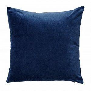 Hemtex Sanna Cushion Cover Koristetyynynpäällinen Antiikinsininen 45x45 Cm