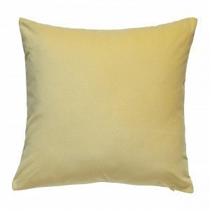 Hemtex Sanna Cushion Cover Koristetyynynpäällinen Vaaleankeltainen 45x45 Cm