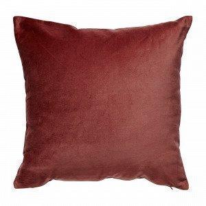Hemtex Sanna Cushion Cover Koristetyynynpäällinen Viininpunainen 45x45 Cm