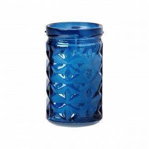 Hemtex Sea Candle In Glass Cup Kynttilä Sininen