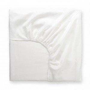 Hemtex Soft Satin Fitted Sheet Muotoonommeltu Lakana Valkoinen 90x200 Cm