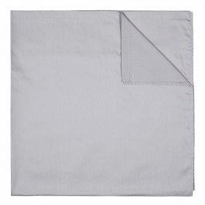 Hemtex Soft Satin Flat Sheet Aluslakana Harmaa 180x260 Cm