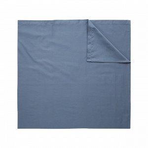 Hemtex Soft Satin Flat Sheet Aluslakana Harmaansininen 150x260 Cm