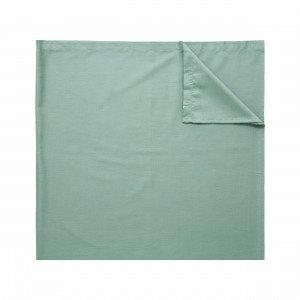 Hemtex Soft Satin Flat Sheet Aluslakana Vihreä 240x260 Cm
