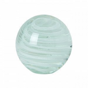 Hemtex Spiral Lasipallo Valkoinen 8x8 Cm
