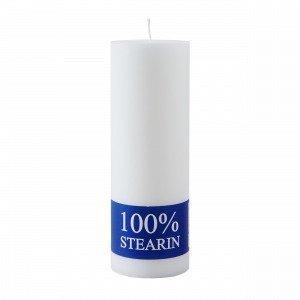 Hemtex Stearin Pöytäkynttilä Valkoinen 20 Cm