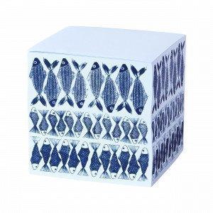 Hemtex Stim Memo Cube Muistilappukuutio Mariininsininen 7.5x7.5 Cm