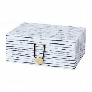 Hemtex Weave Säilytysrasia Valkoinen 13x17 Cm