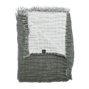 Himla Hannelin Huopa Charcoal / Valkoinen 130x170 Cm