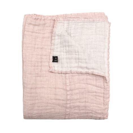 Himla Hannelin Päiväpeite Romance Vaaleanpunainen-Valkoinen 260x260 cm