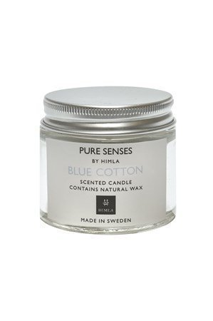 Himla Kynttilä Pure Senses 80ml blue cotton