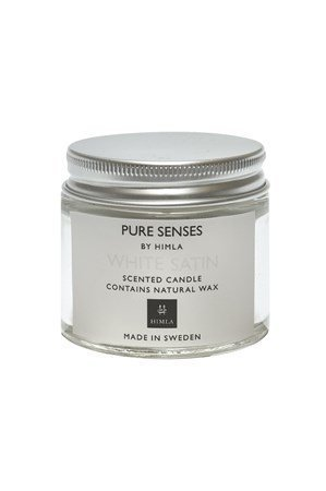 Himla Kynttilä Pure Senses 80ml white satin