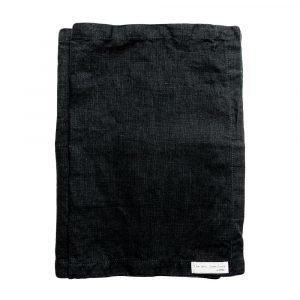 Himla Mira Pöytätabletti Musta 37x50 Cm 2-Pakkaus