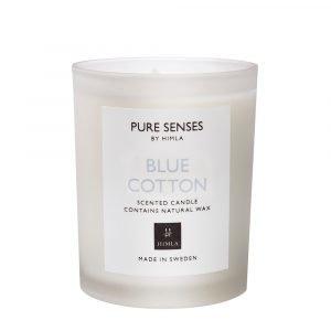 Himla Pure Senses Tuoksukynttilä 165gr Blue Cotton