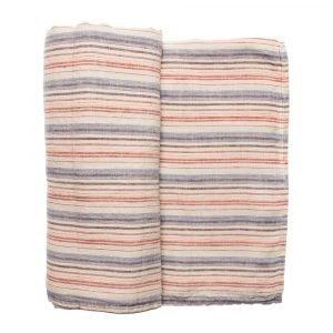 Himla Tillsammans Pöytäliina Multi Stripe 145x250 Cm