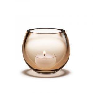 Holmegaard Cocoon Lämpökynttilänjalka Vaaleanpunainen