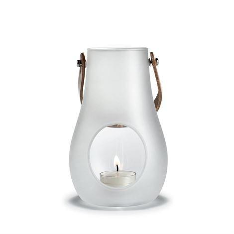 Holmegaard Design With Light Huurrutettu Kynttilälyhty 160 mm