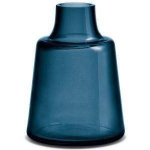 Holmegaard Flora Maljakko Lyhyt Sininen 24 Cm