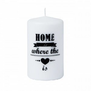 Home Is Pöytäkynttilä Valkoinen