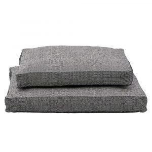 House Doctor Ca Box Tyynynpäällinen Musta / Offwhite 45x45 Cm