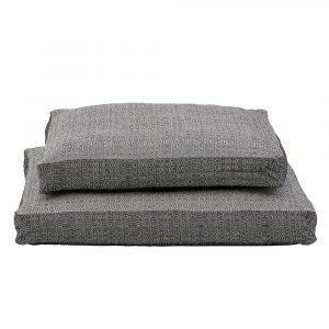 House Doctor Ca Box Tyynynpäällinen Musta / Offwhite 55x55 Cm