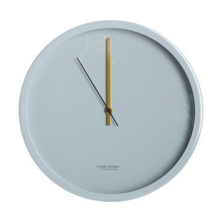 House Doctor Clock Couture Seinäkello Harmaa 30 cm