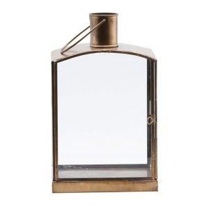 House Doctor Origi Lyhty Antique Brass 27 Cm