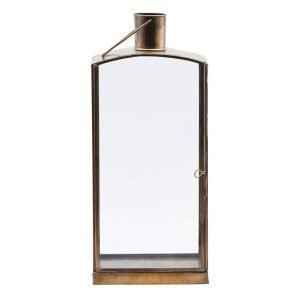 House Doctor Origi Lyhty Antique Brass 36 Cm