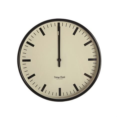 House Doctor Vintage Watch Seinäkello Pieni Ø 30 cm