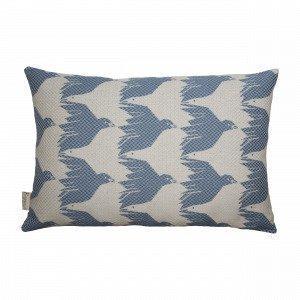 House Of Rym Birdie Namnam Cushion Sininen Koristetyyny 40x60 Cm