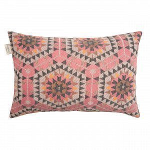 House Of Rym Heavenly Honeycomb Koristetyynynpäällinen Roosa 60x40 Cm