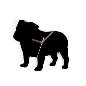 Hurmaava Bulldoggi Seinäkello