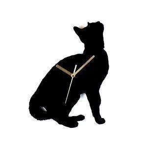 Hurmaava Haaveileva Kissa Seinäkello