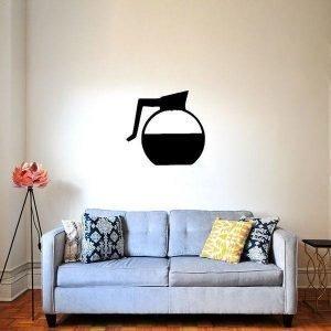 Hurmaava Kahvi Mustana Sisustustaulu
