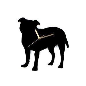 Hurmaava Staffordshirenbullterrieri Seinäkello