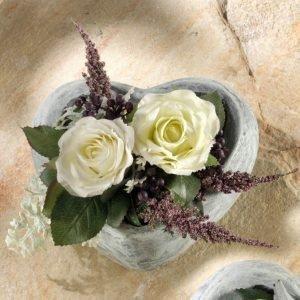 Igea Ruusuasetelma Valkoinen