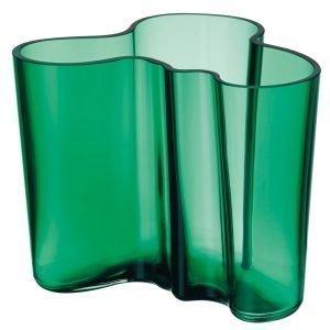 Iittala Aalto Vaasi Smaragdi Vihreä 12 Cm