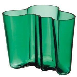Iittala Aalto Vaasi Smaragdi Vihreä 16 Cm